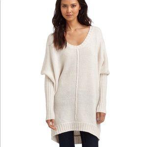 BCBGMAXAZRIA soft sexy alpaca dress / tunic Large